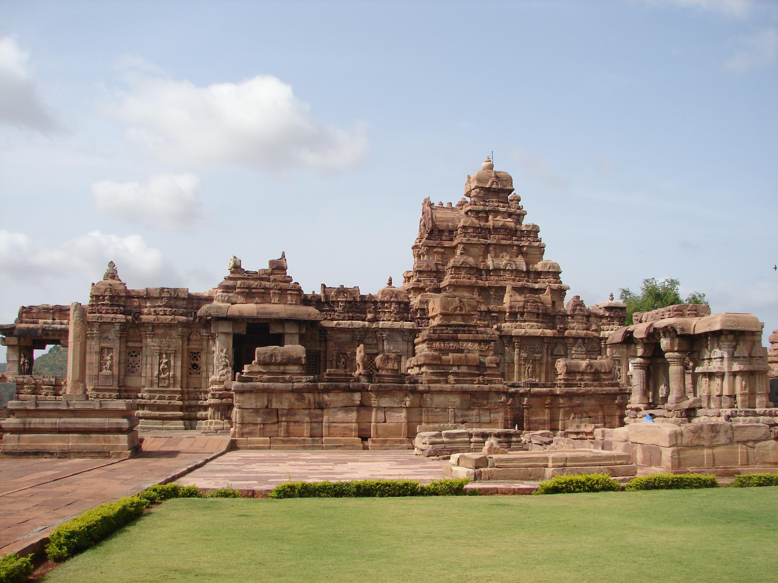 Virupaksha temple at Pattadakal