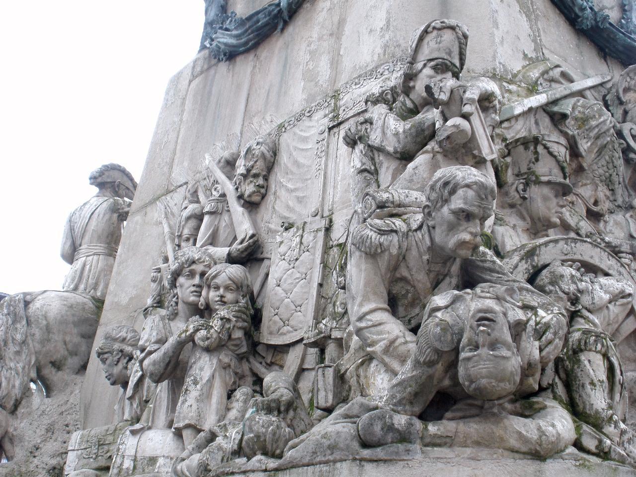 Resultado de imagen de monumento batalla vitoria