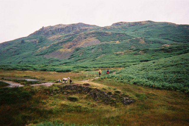 Walkers on Loughrigg - geograph.org.uk - 1514133