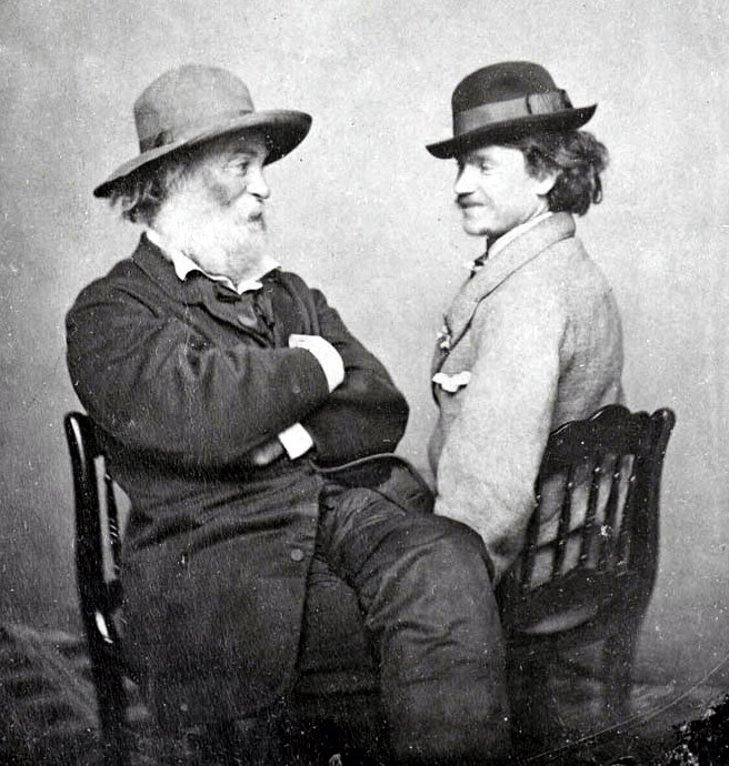 File:Whitman, Walt (1819-1892) and Doyle.JPG - Wikipedia