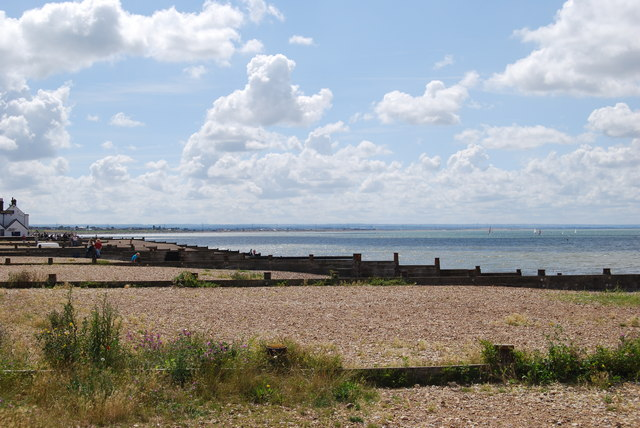 Whitstable Beach - geograph.org.uk - 505426