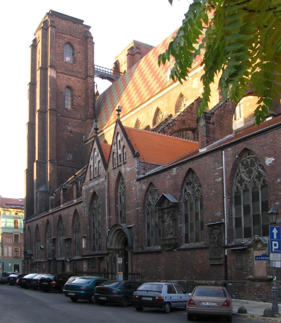 St Mary Magdalene Church Wrocław Wikipedia