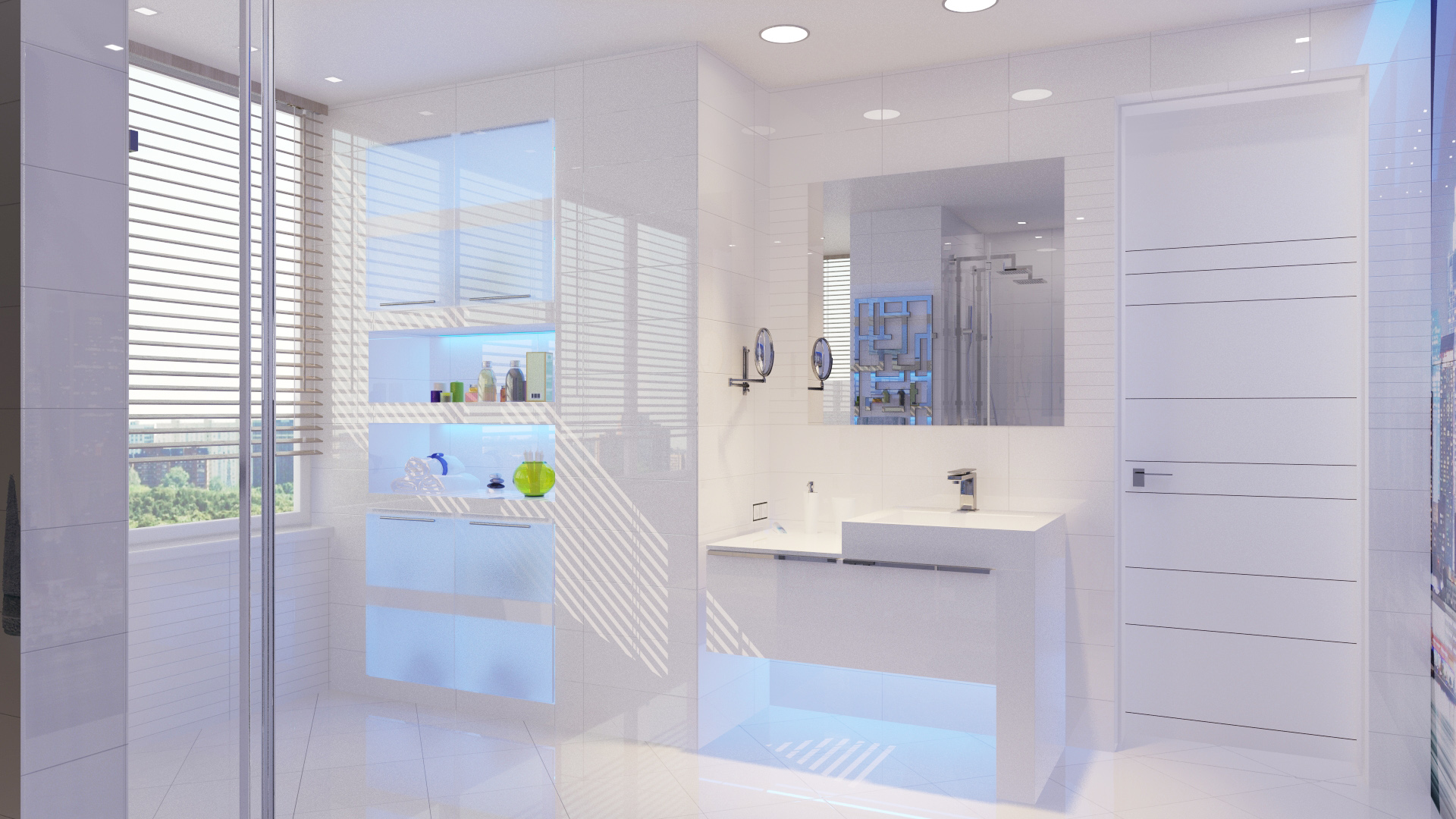 Minimalist bathroom interior design ideas