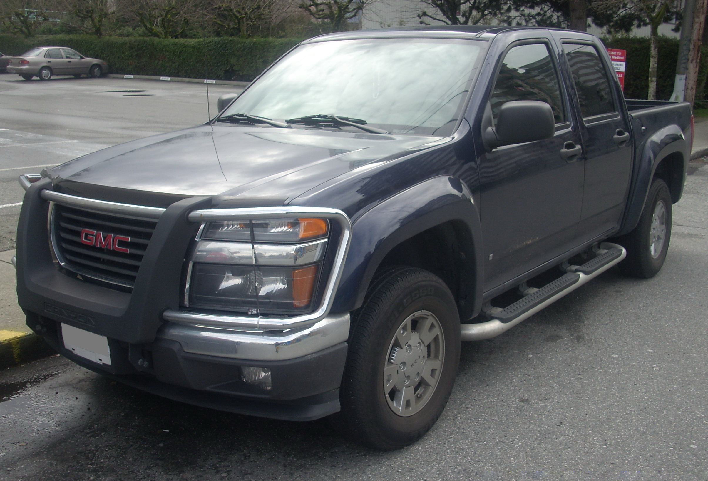 when will gmc canyon be released autos post. Black Bedroom Furniture Sets. Home Design Ideas