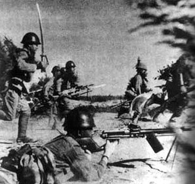 Operation Ichigo, IJA invading Henan, 1944 1944 Operation Ichigo IJA invaded Henan.jpg