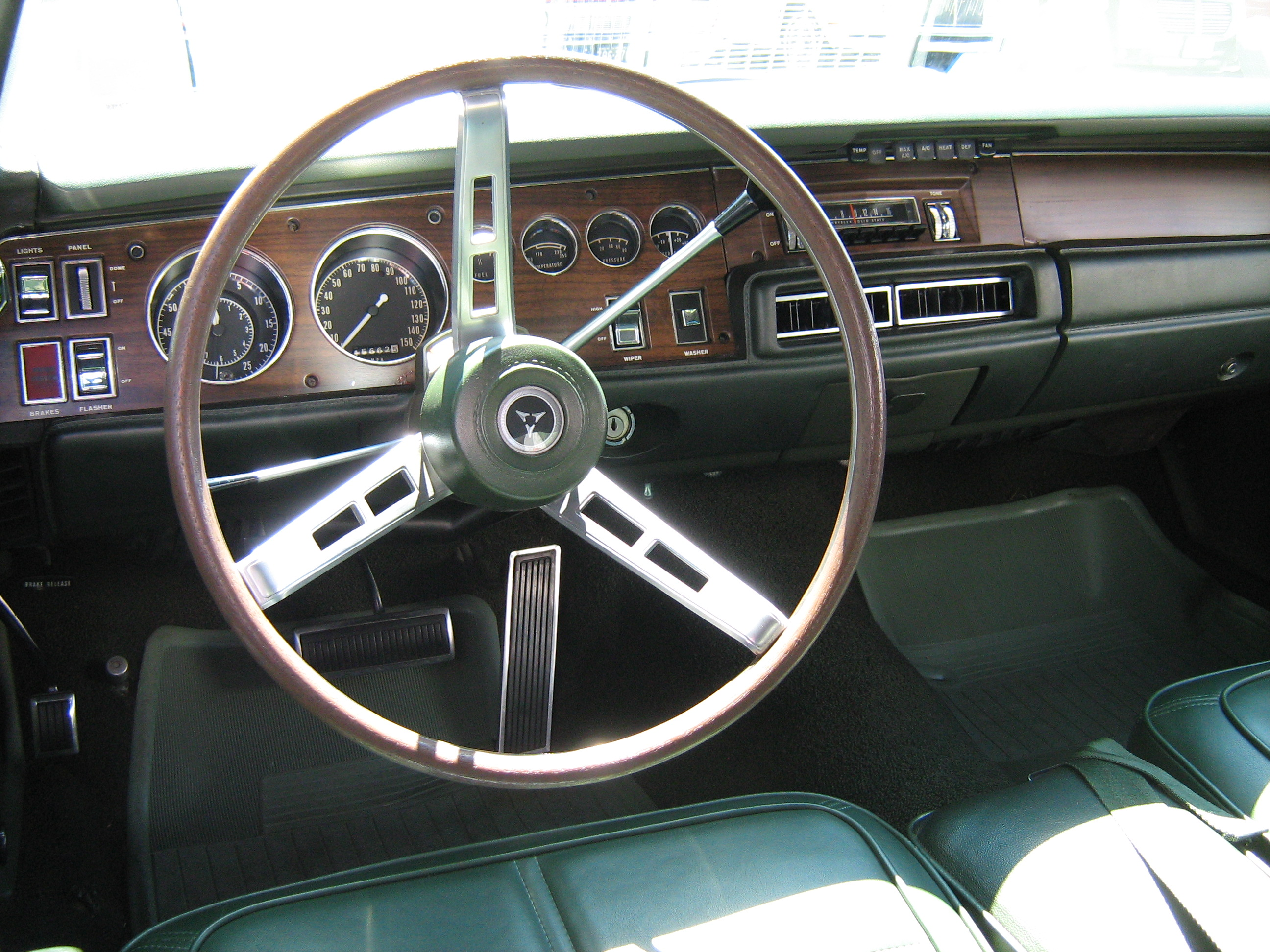1969 Dodge Charger Interior