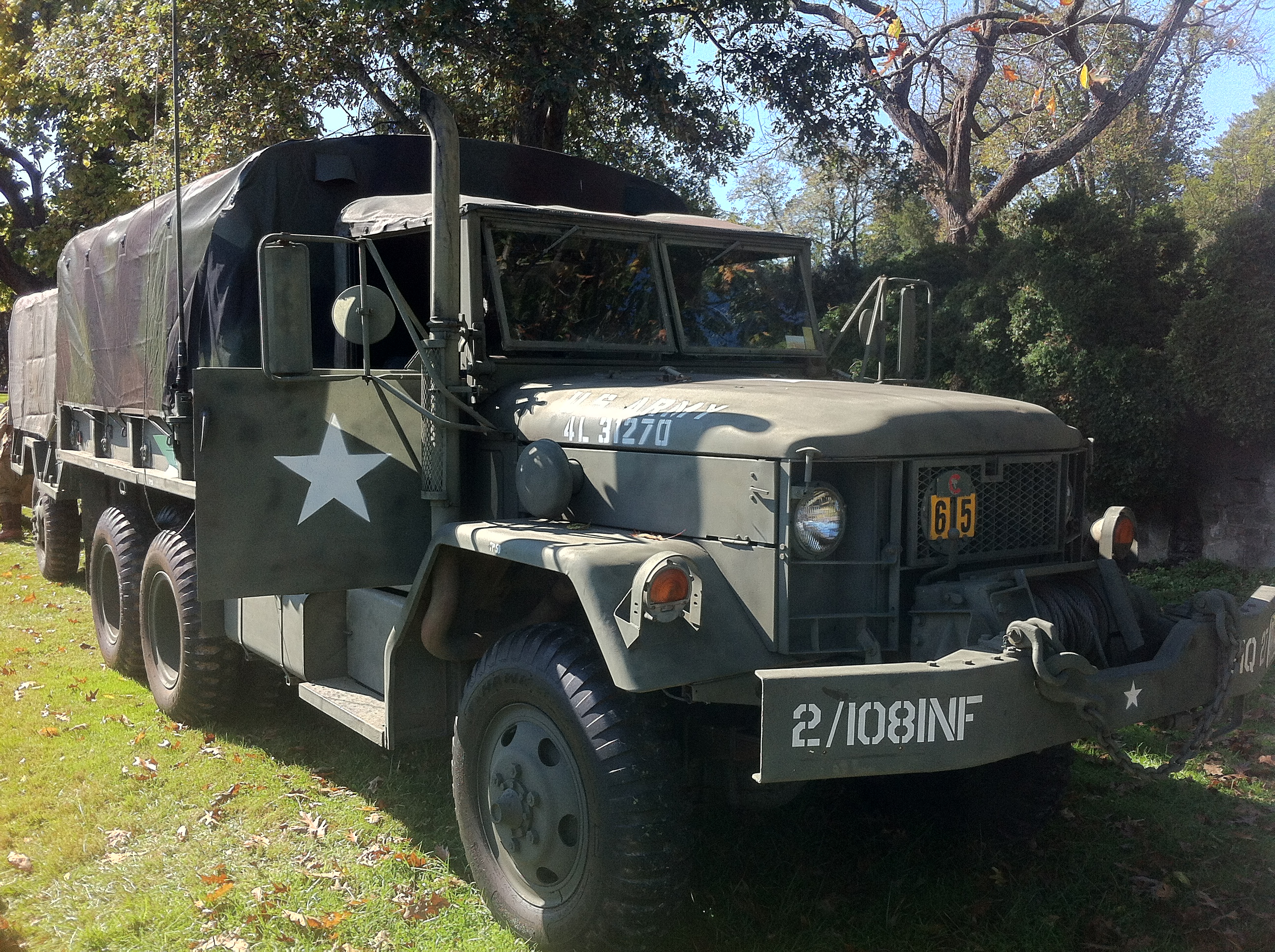 File1970 Am General M35a2 Cargo Truck At 2014 Rockville Show 1