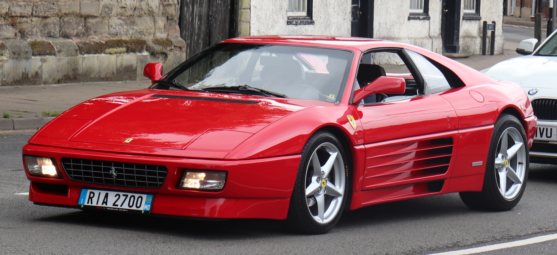 File 1993 Ferrari 348 Ts 3 4 Front Jpg Wikimedia Commons