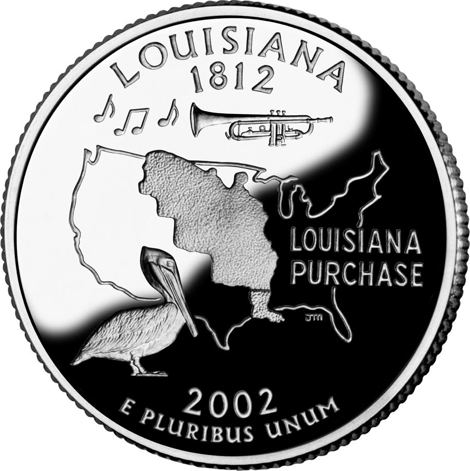 Louisiana quarter