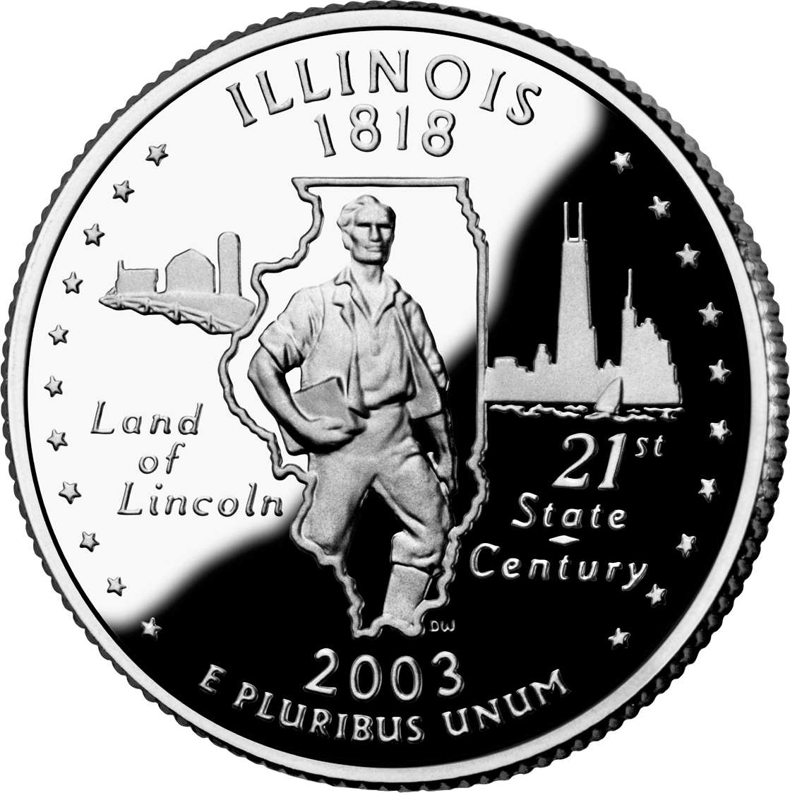 Illinois' state quarter