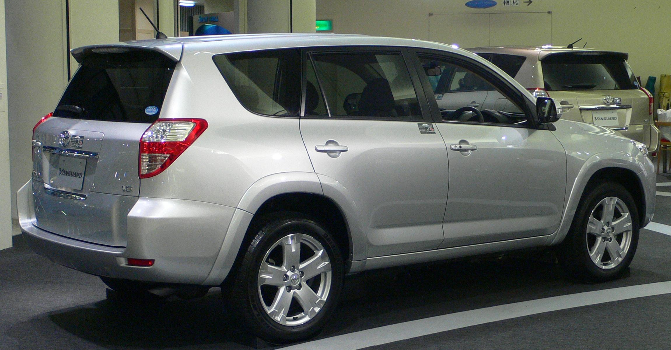 File:2007 Toyota Vanguard 02.jpg - Wikimedia Commons