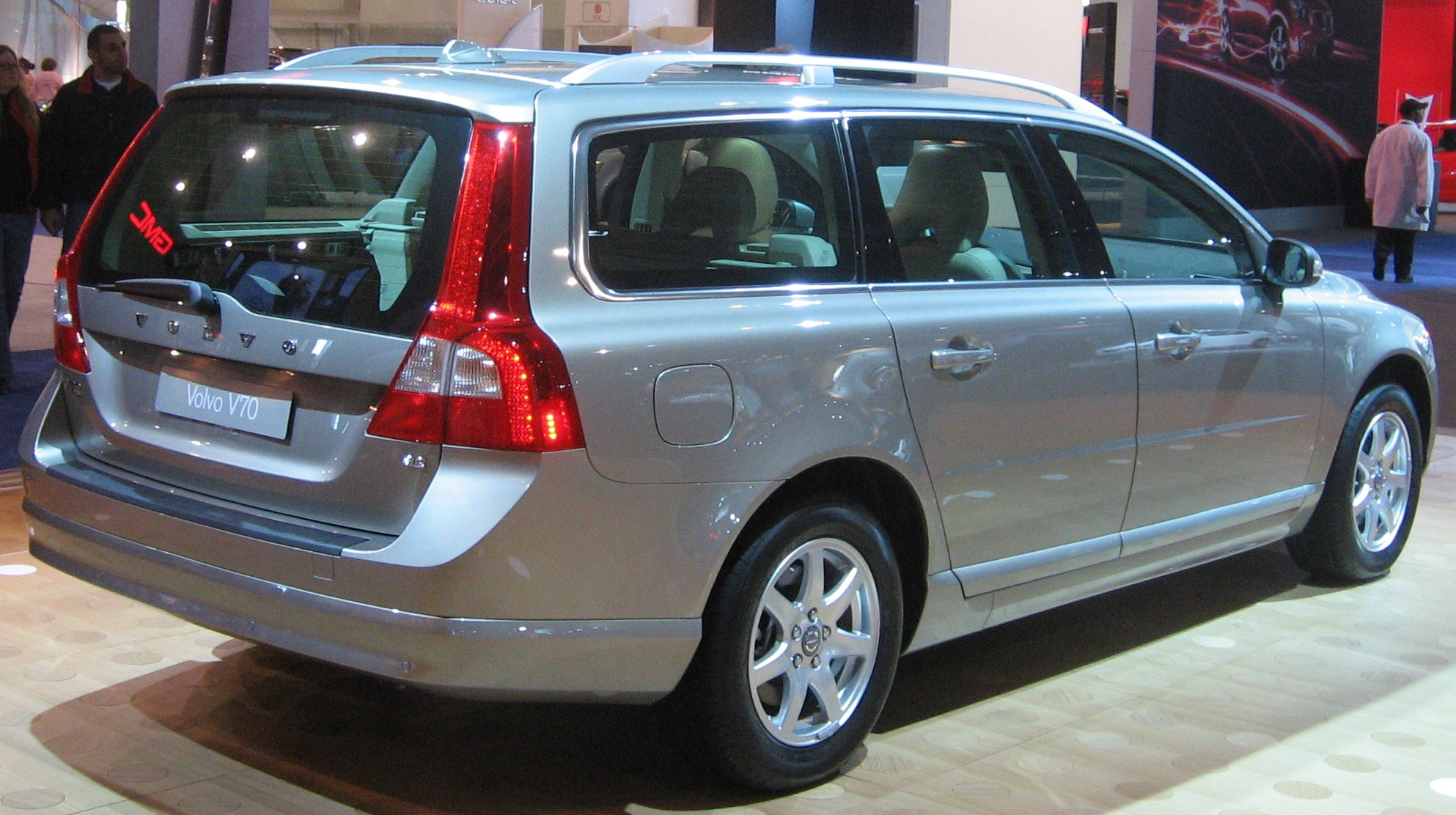 File 2008 Volvo V70 Rear Dc Jpg Wikimedia Commons