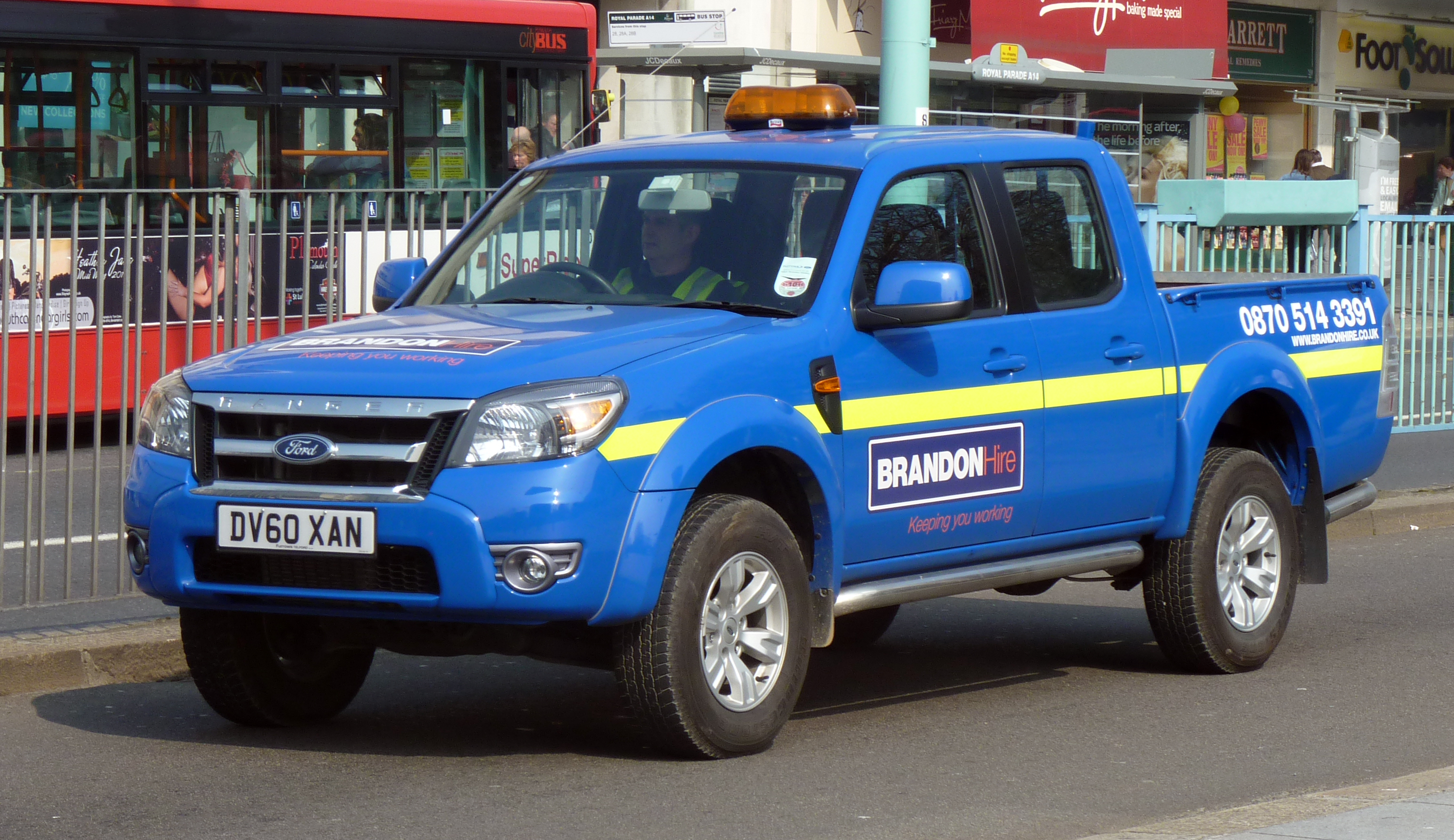 FileA Ford Ranger Badged Mazda