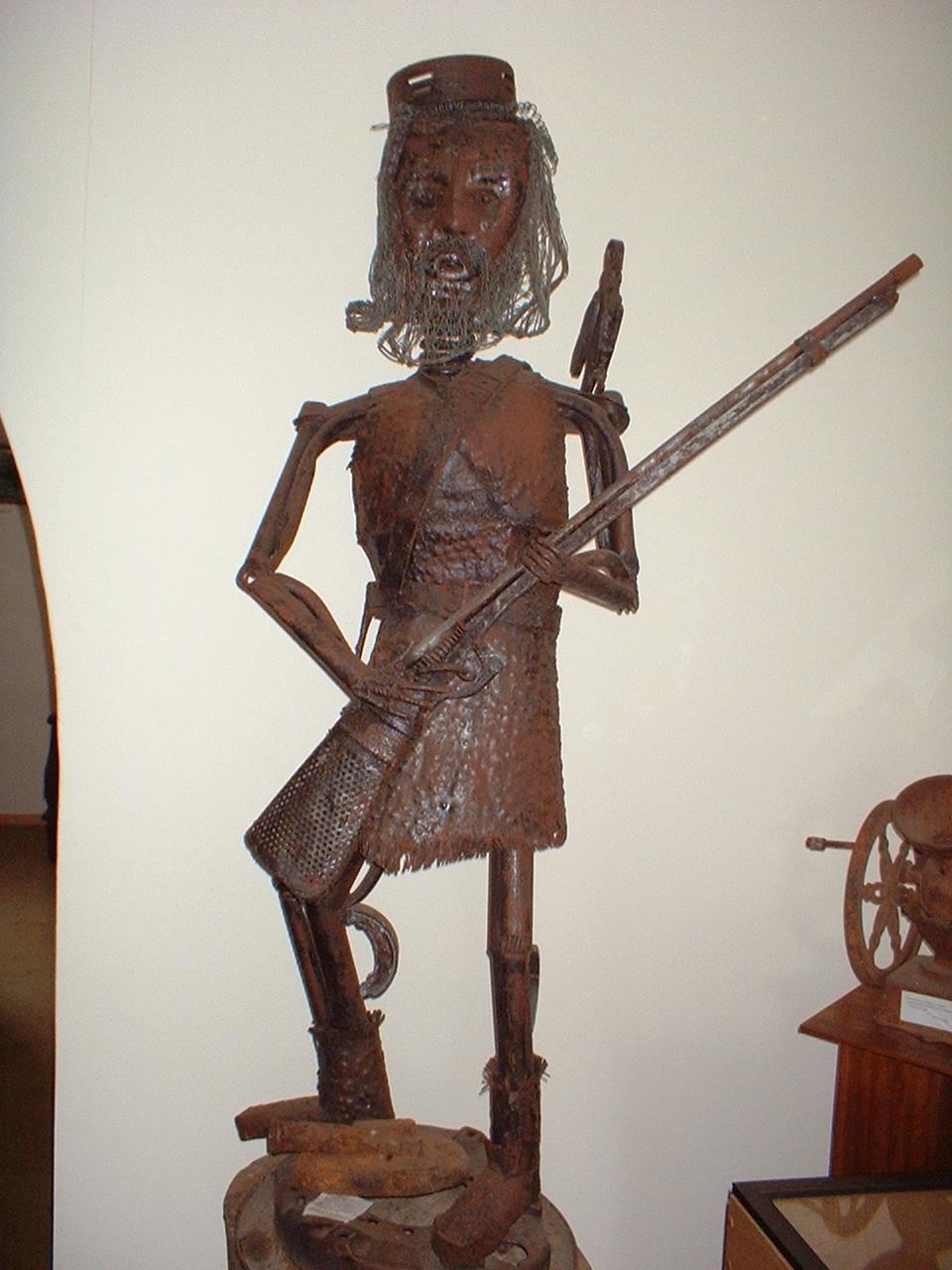 Estatuilla de Alexandre Selkirk
