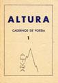 Altura, cadernos de poesia, nº 1, Fevereiro de 1945, capa.jpg