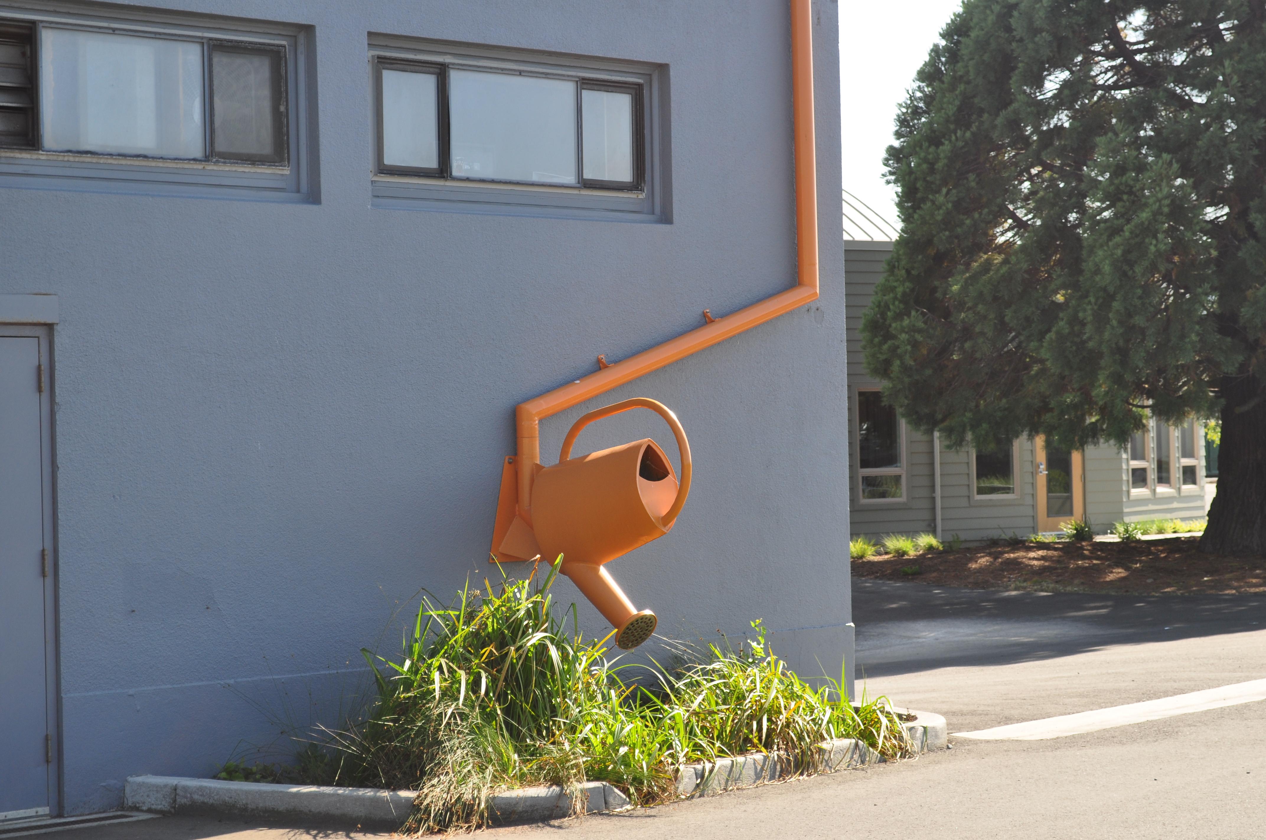 Design Build Rain Water Eader