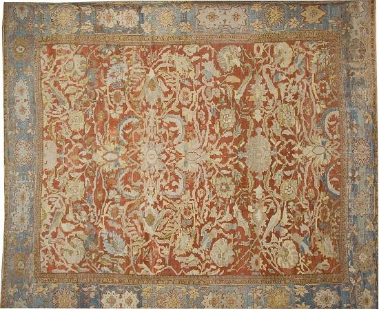 File Antique Persian Ziegler Rug Jpg Wikimedia Commons