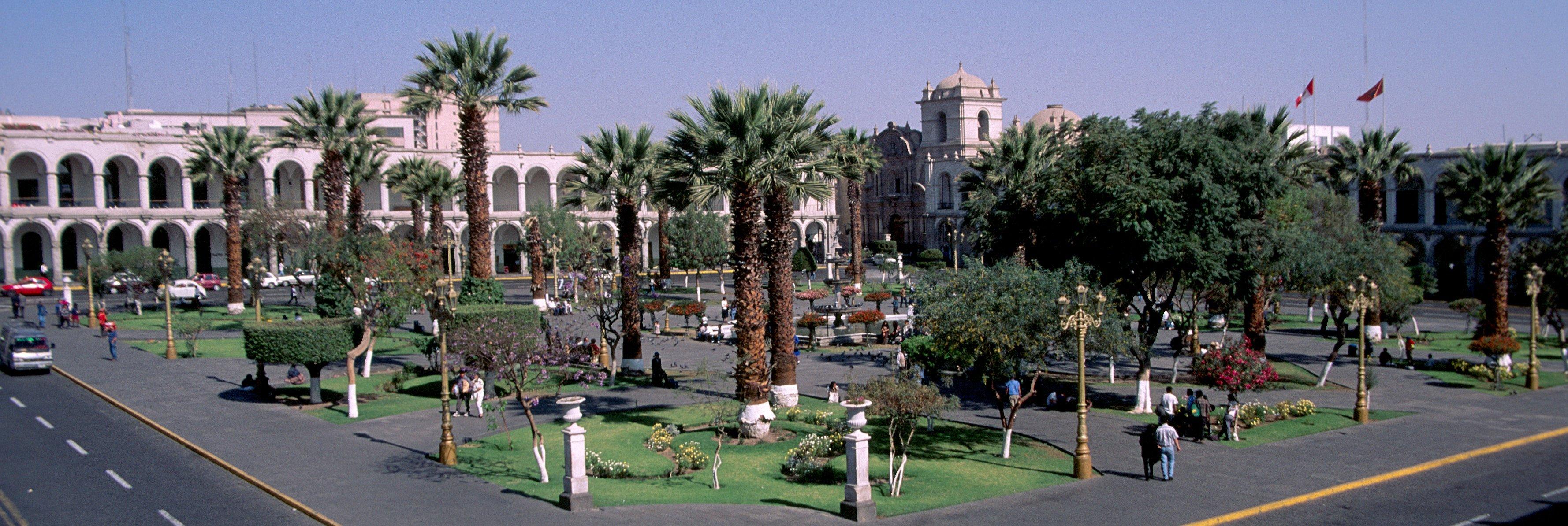 La plaza armas