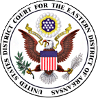 Seal of the United States District Court for the Eastern District of Arkansas