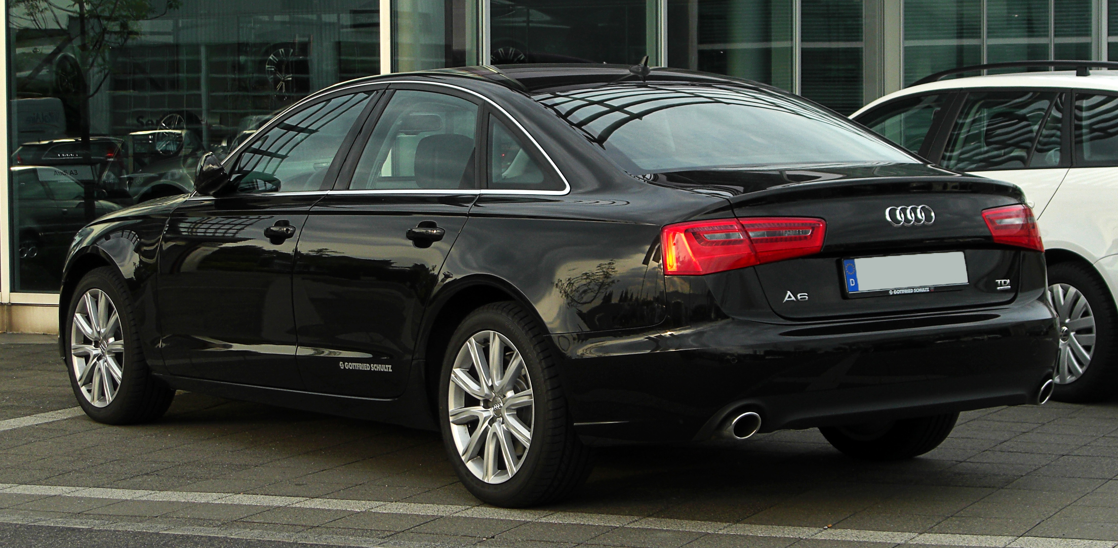 File Audi A6 3 0 Tdi Quattro C7 Heckansicht 1 13