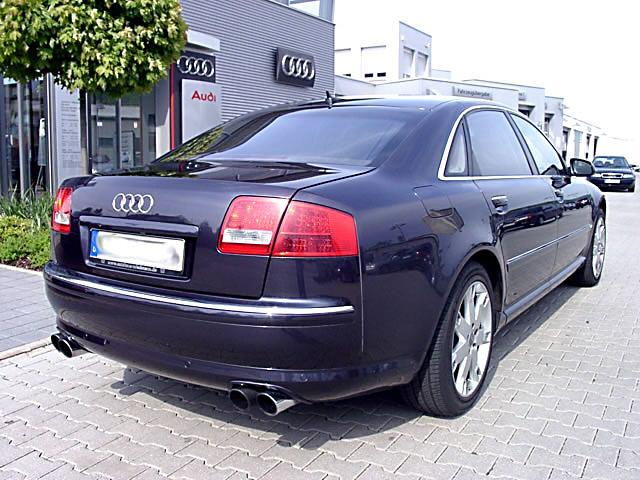 File Audi A8 2002 Rear Jpg Wikimedia Commons