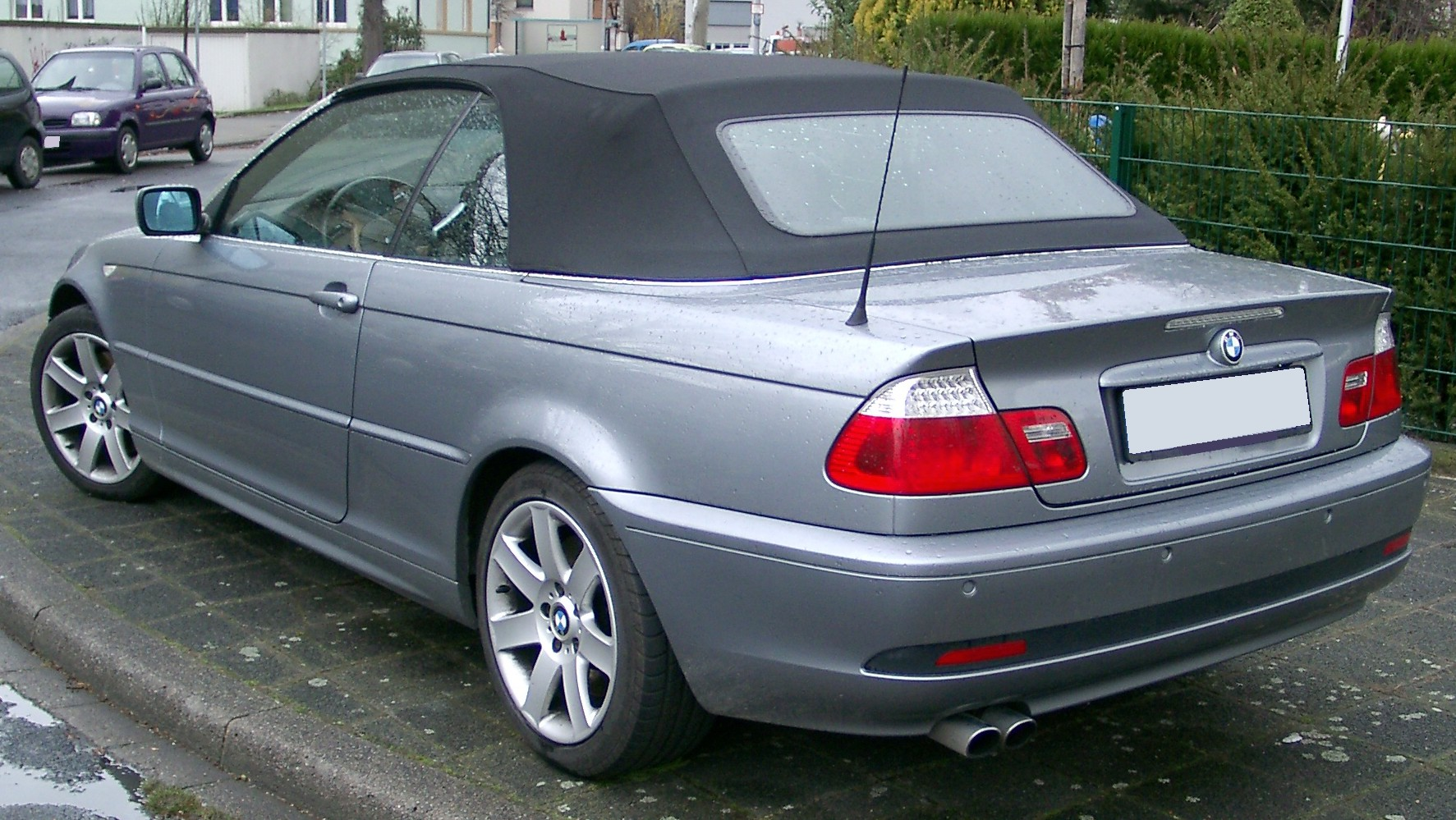 file bmw e46 cabrio rear. Black Bedroom Furniture Sets. Home Design Ideas