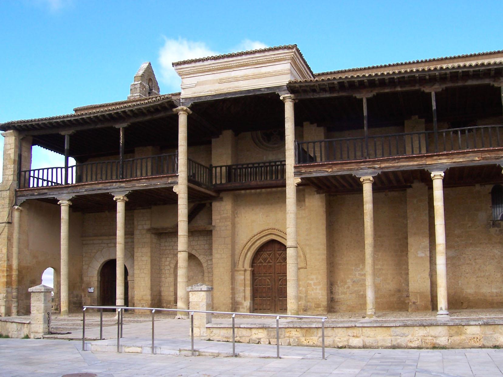 Iglesia de Santa María en Becerril. Fuente