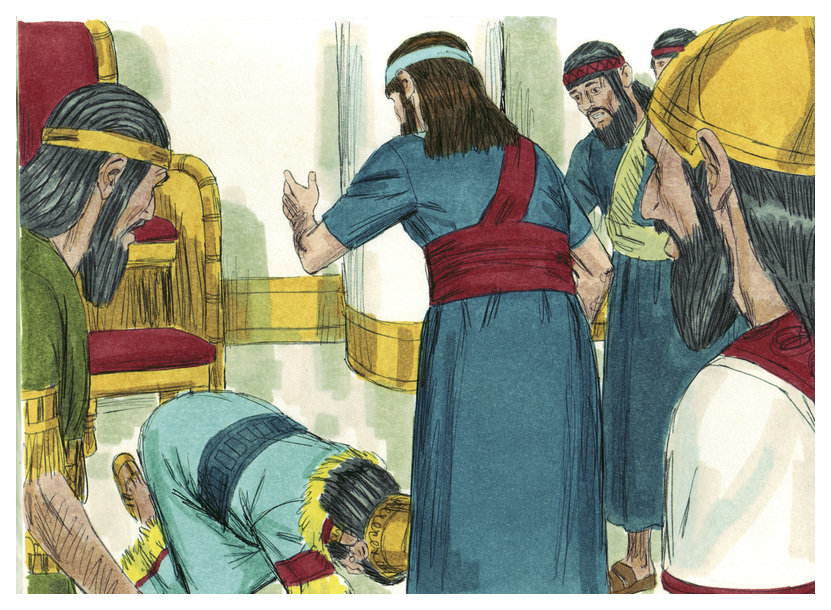 File:Book of Daniel Chapter 2-8 (Bible Illustrations by Sweet Media