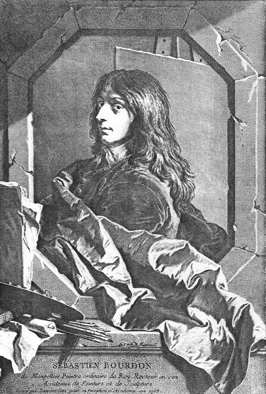 Гиацинт Риго, портрет Себастьяна Бурдона