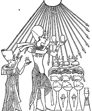 A Ray of Light! - Page 2 C%2BB-Egypt-Fig12-AkhnatenWorshippingSun