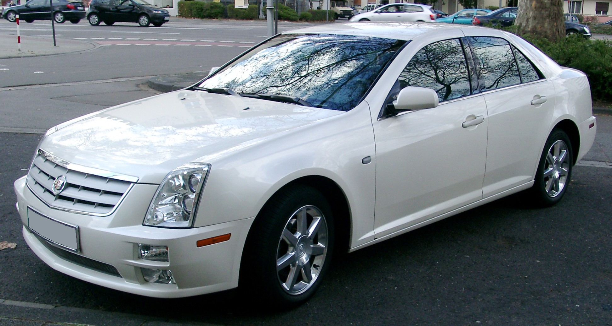 File:Cadillac STS front 20080318.jpg - Wikimedia Commons