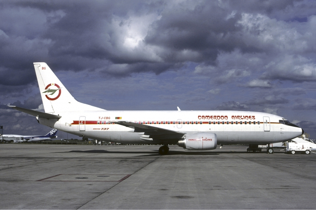 Cameroon_Airlines_Boeing_737-300_Volpati