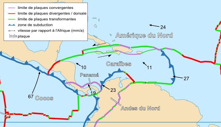 formation geologique des iles