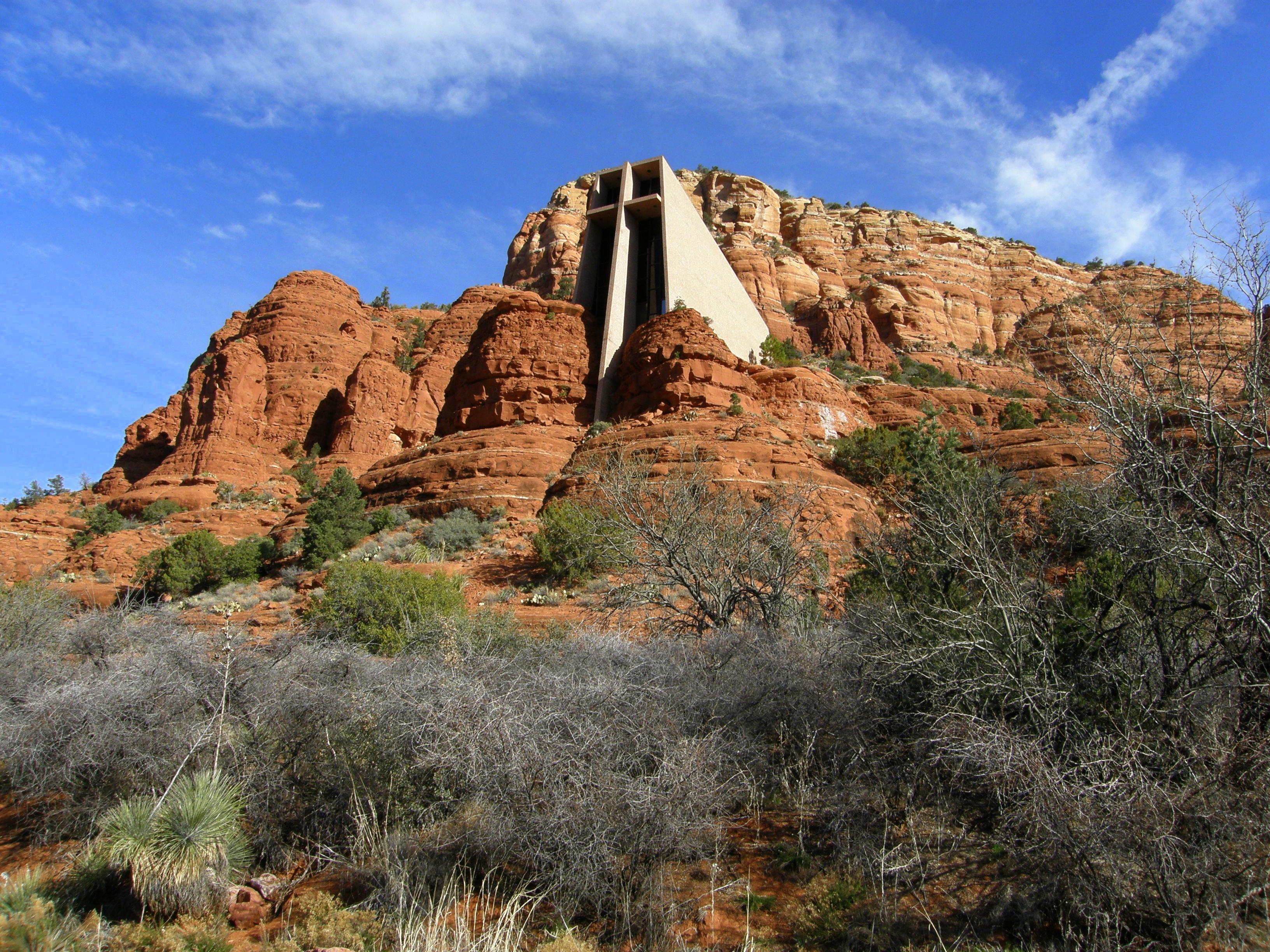 File Chapel Of The Holy Cross Sedona Arizona Exterior