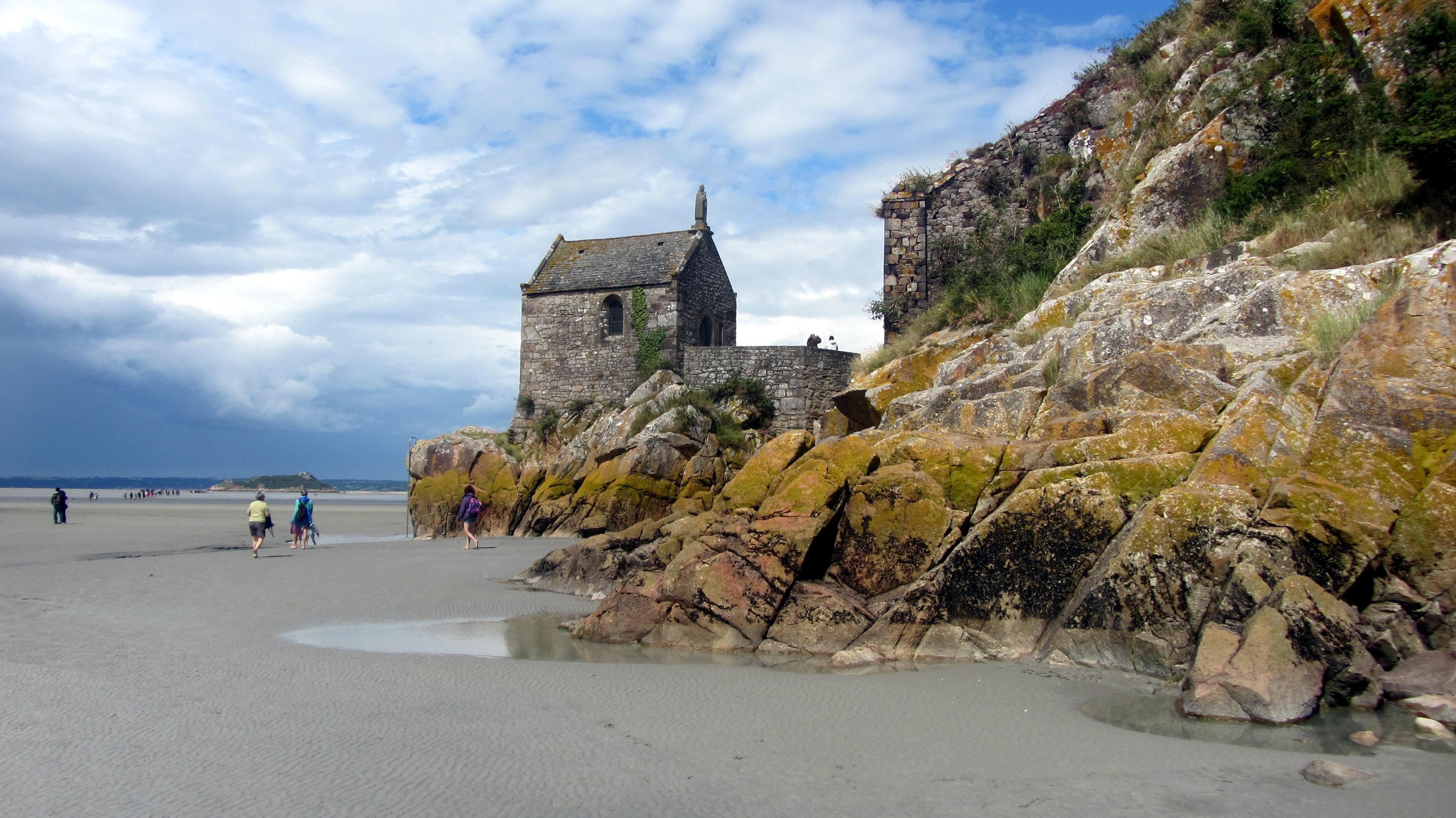 File chapelle saint aubert au mont saint for Au jardin st michel pontorson