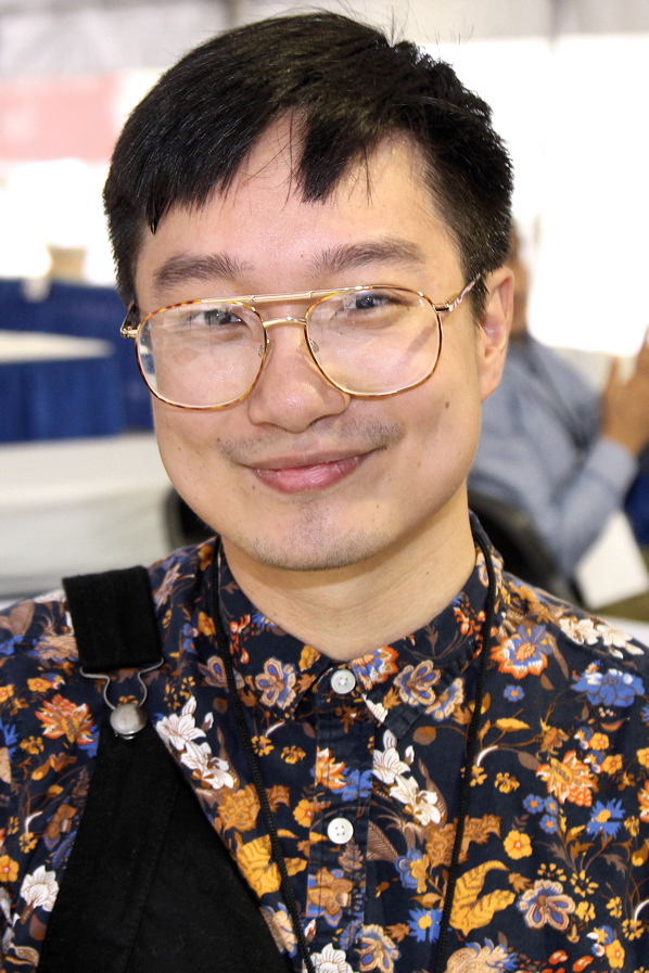 Chen at the 2017 Texas Book Festival