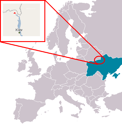 location in Ukraine.