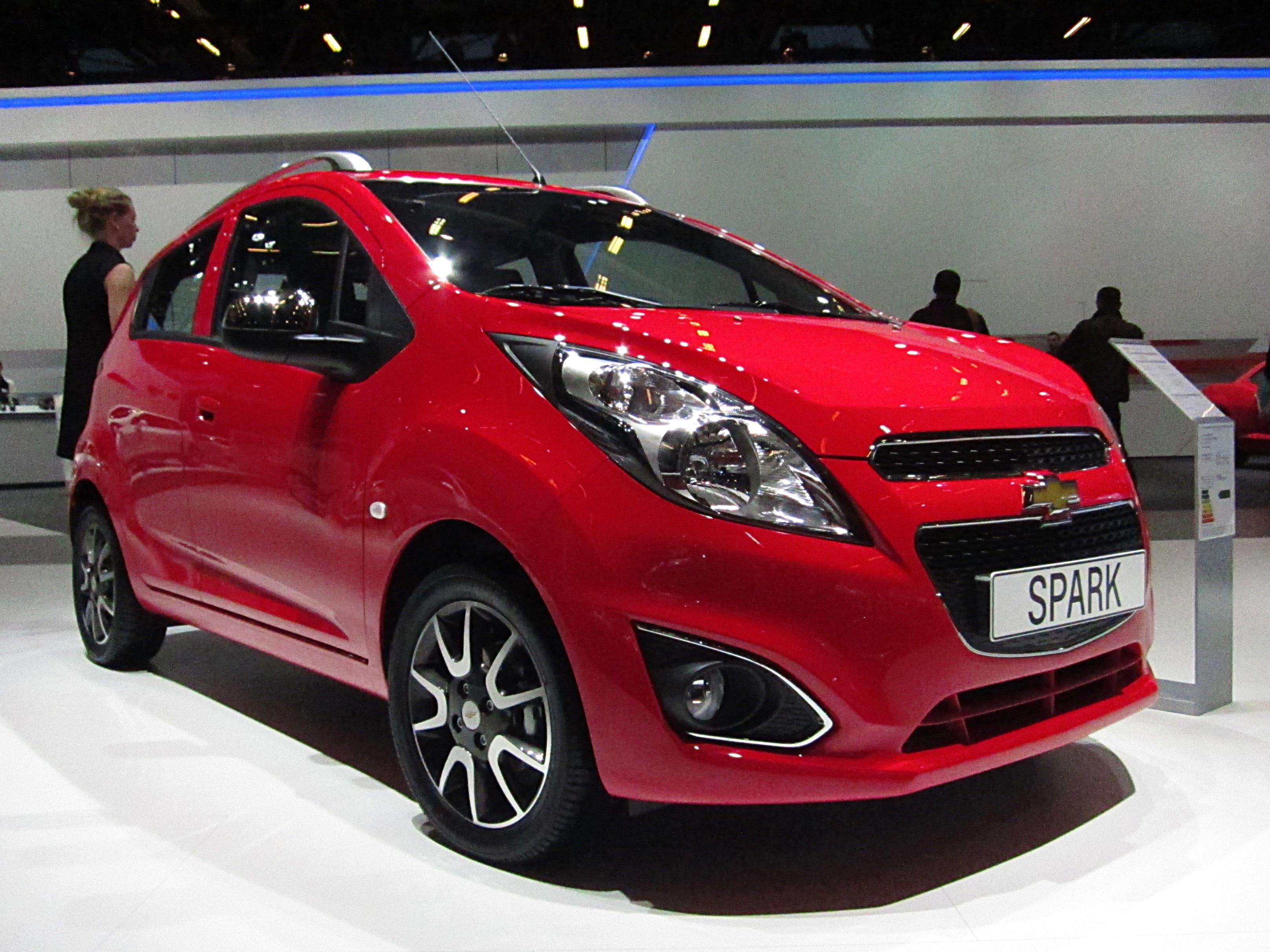 File:Chevrolet Spark facelift (front quarter).JPG ...