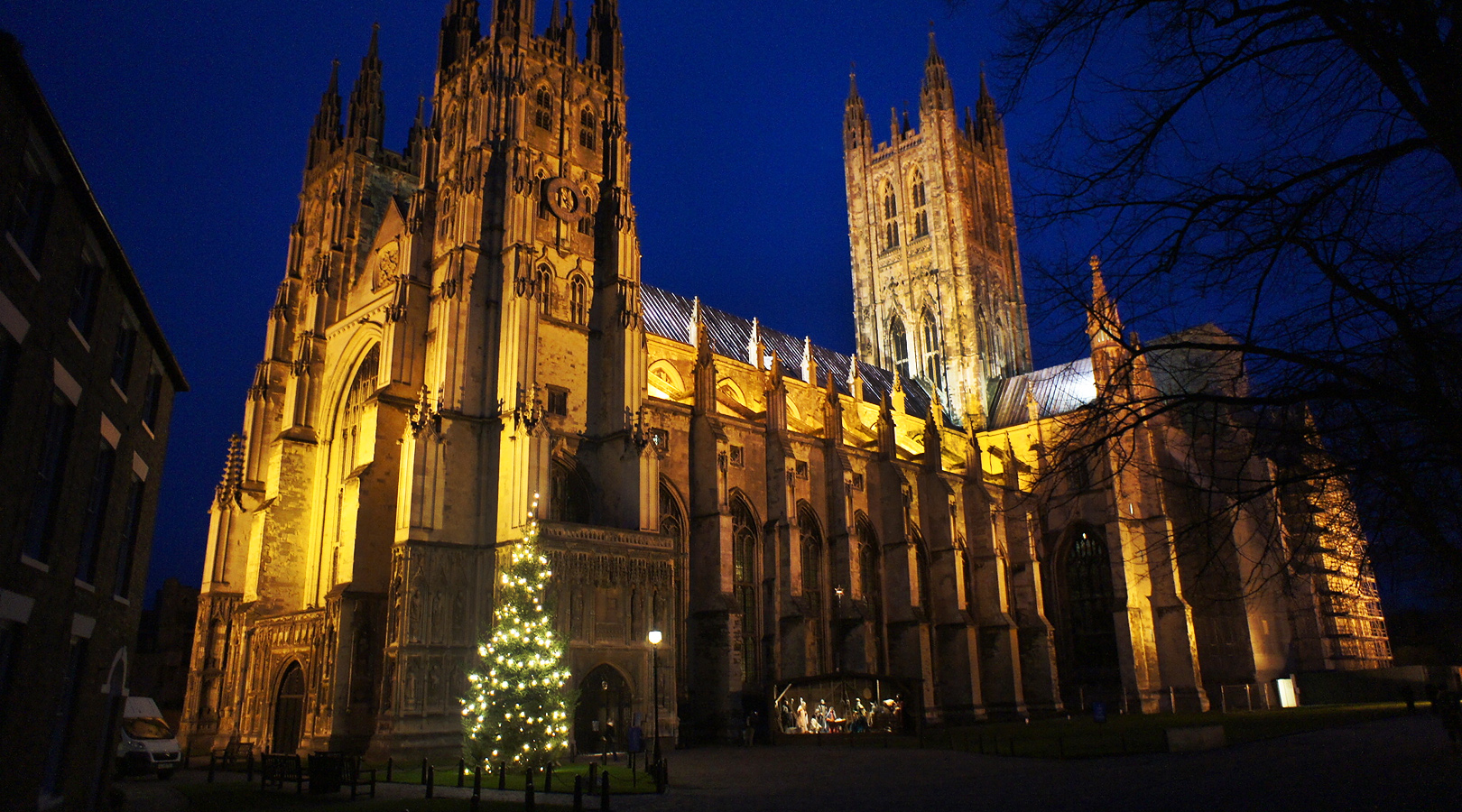 Image result for canterbury cathedral at christmas