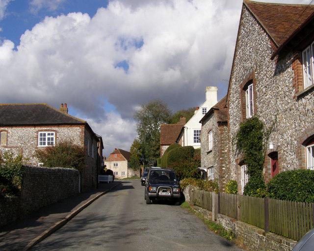 Church Lane, Slindon - geograph.org.uk - 1018457