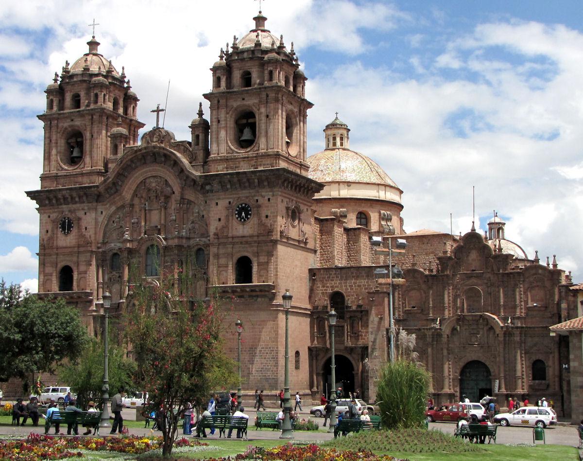 Iglesia Compañía de Jesus Viaje a Cuzco