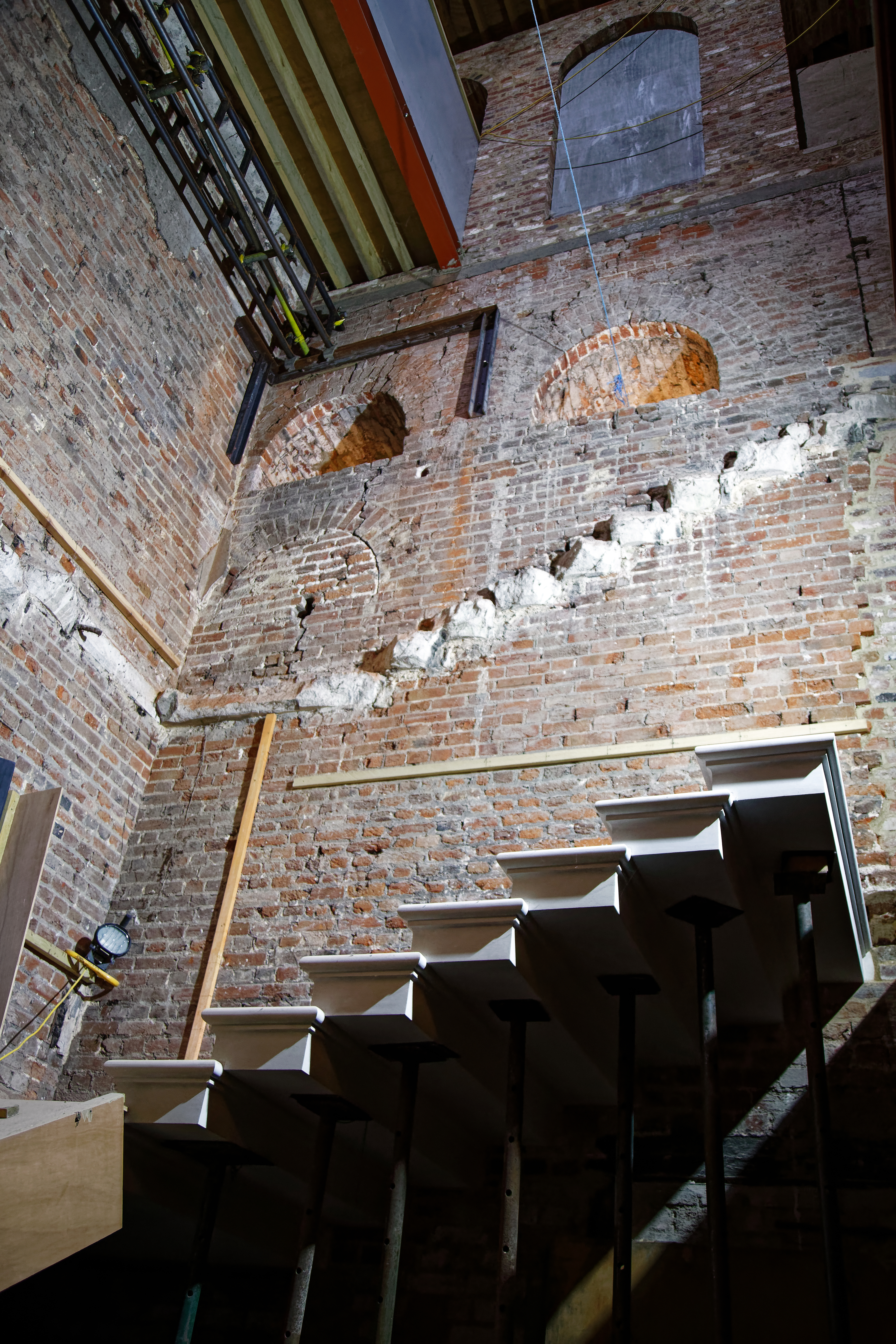 FILE COPPED HALL INTERIOR STAIRWELL RESTORATION EPPING