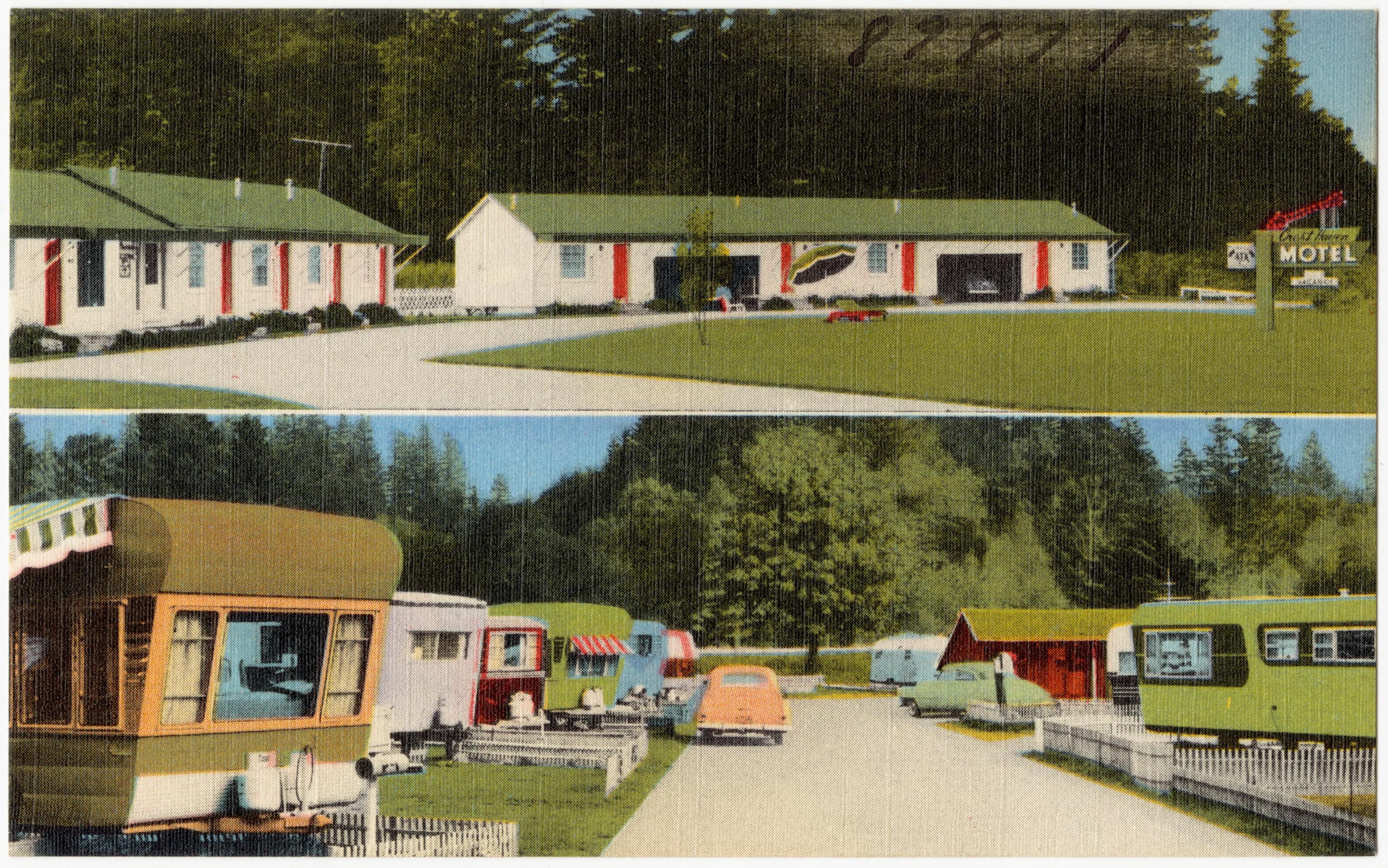 Filecrest Haven Motel And Trailer Park 2400 Samish Highway On 99