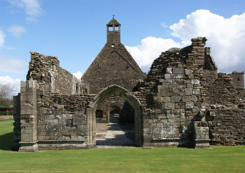 Crossraguel Abbey - church