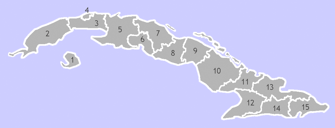 Filecuba Provinces Base W Nrpng Wikimedia Commons