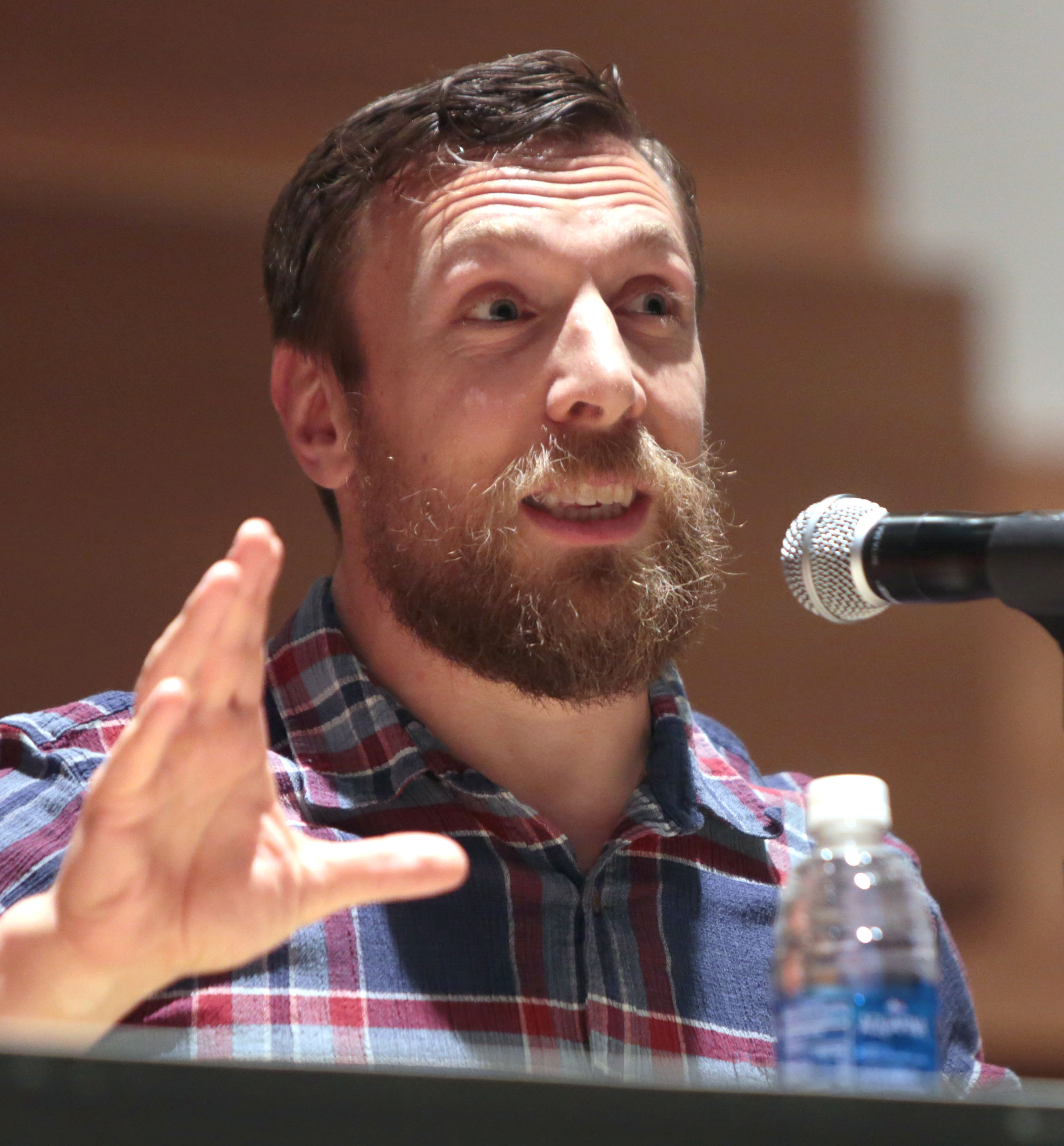 The 37-year old son of father (?) and mother(?) Daniel Bryan in 2018 photo. Daniel Bryan earned a  million dollar salary - leaving the net worth at 2 million in 2018