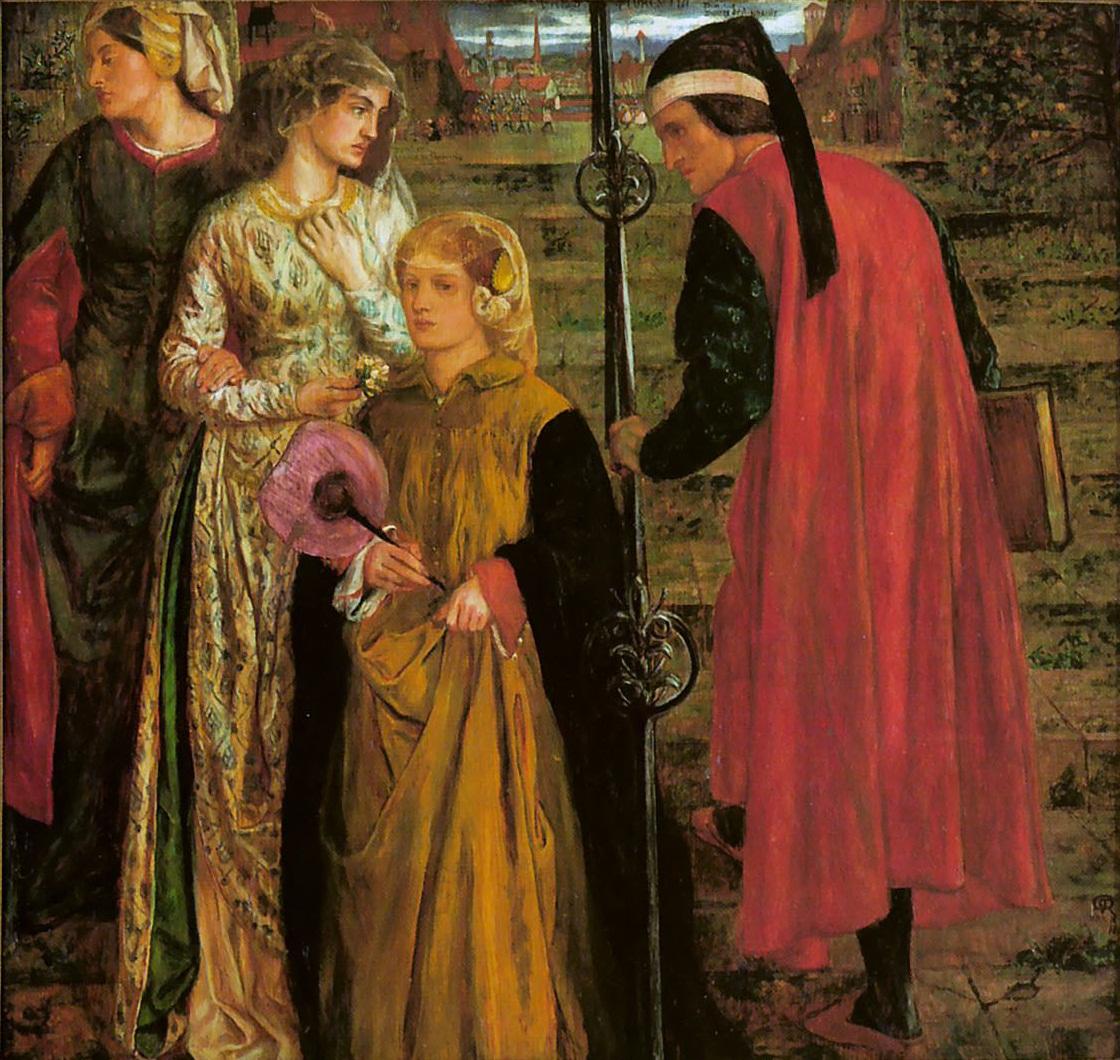 Saint of the week dante alighieri supreme poet of italy - Lo specchio di beatrice wikipedia ...