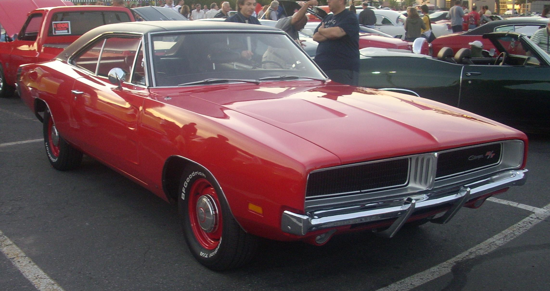 1968 Dodge Charger R T Red