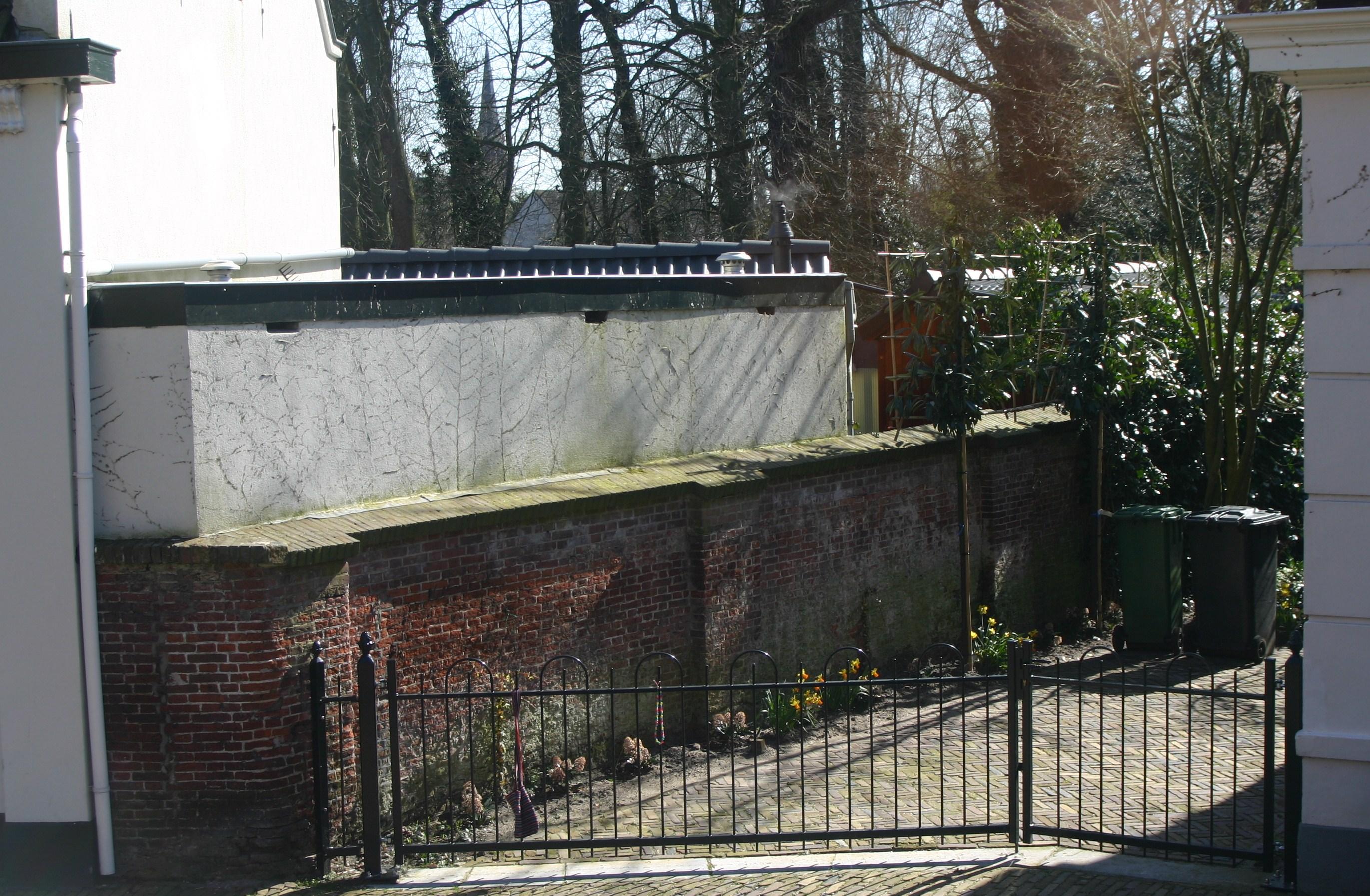 Stalgebouw 18e eeuw muur tuin in wassenaar monument - Muur tuin ...