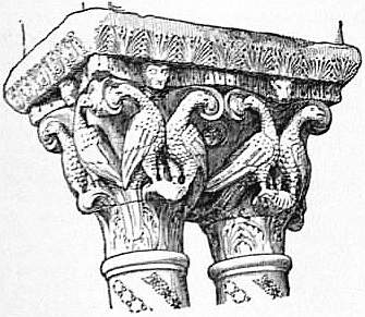 EB1911 Capital Fig. 12.—Romanesque Capitals from the Cloister of Monreale, Sicily.jpg